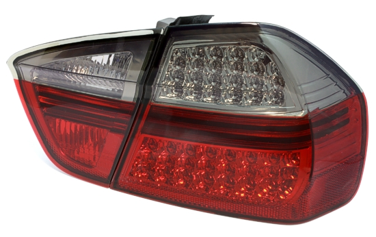 Red Clear Tail Lights E90