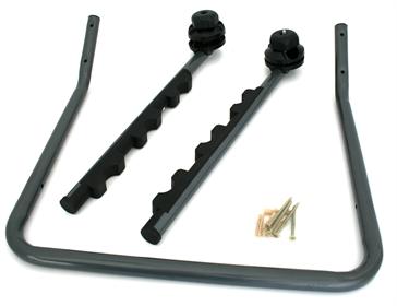 fahrrad wandhalterung f r 2 fahrr der uvm ad tuning. Black Bedroom Furniture Sets. Home Design Ideas