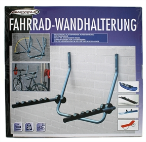 fahrrad wandhalterung f r 2 fahrr der uvm ad tuning. Black Bedroom Furniture Sets. Home Design Ideas