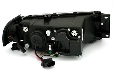 scheinwerfer mit led f r skoda octavia in schwarz ad tuning. Black Bedroom Furniture Sets. Home Design Ideas