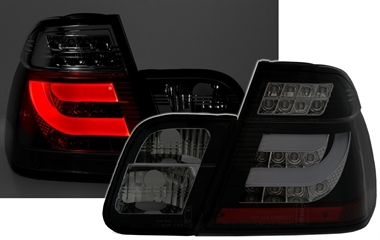 lightbar r ckleuchten f r 3er bmw e46 in schwarz s ad tuning. Black Bedroom Furniture Sets. Home Design Ideas