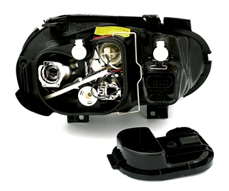 scheinwerfer set f r vw golf 4 in r32 optik schw ad tuning. Black Bedroom Furniture Sets. Home Design Ideas