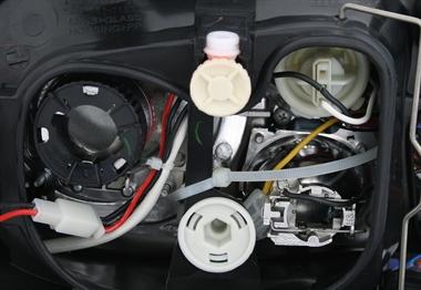 xenon scheinwerfer set f r vw golf 4 in schwarz ad tuning. Black Bedroom Furniture Sets. Home Design Ideas