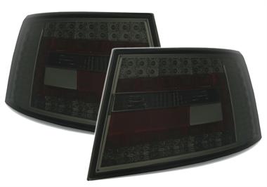 led r ckleuchten f r audi a6 4f in smoke ad tuning. Black Bedroom Furniture Sets. Home Design Ideas