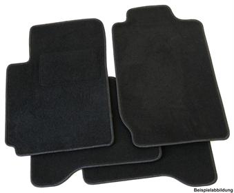 Matten Autoteppiche Passform Set Fußmatten Set für VW Polo 2G AW ab 2017
