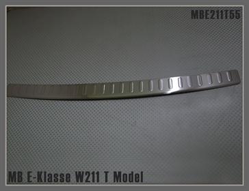 AD Tuning ATMBE211T55 Ladekantenschutz Edelstahl Chrom gl/änzend