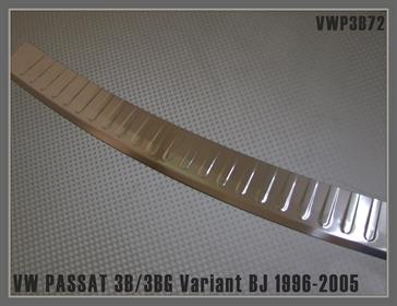 AD Tuning ATVWP3B72 Ladekantenschutz Edelstahl Chrom gl/änzend