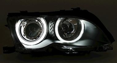 xenon und angel eyes e46 elektrik beleuchtung bmw. Black Bedroom Furniture Sets. Home Design Ideas