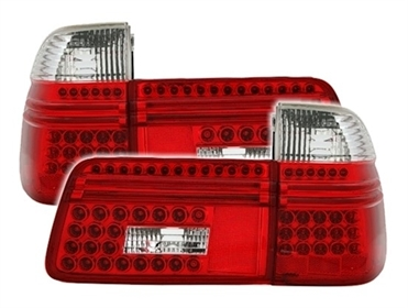 led r ckleuchten f r bmw e39 touring in rot wei ad tuning. Black Bedroom Furniture Sets. Home Design Ideas