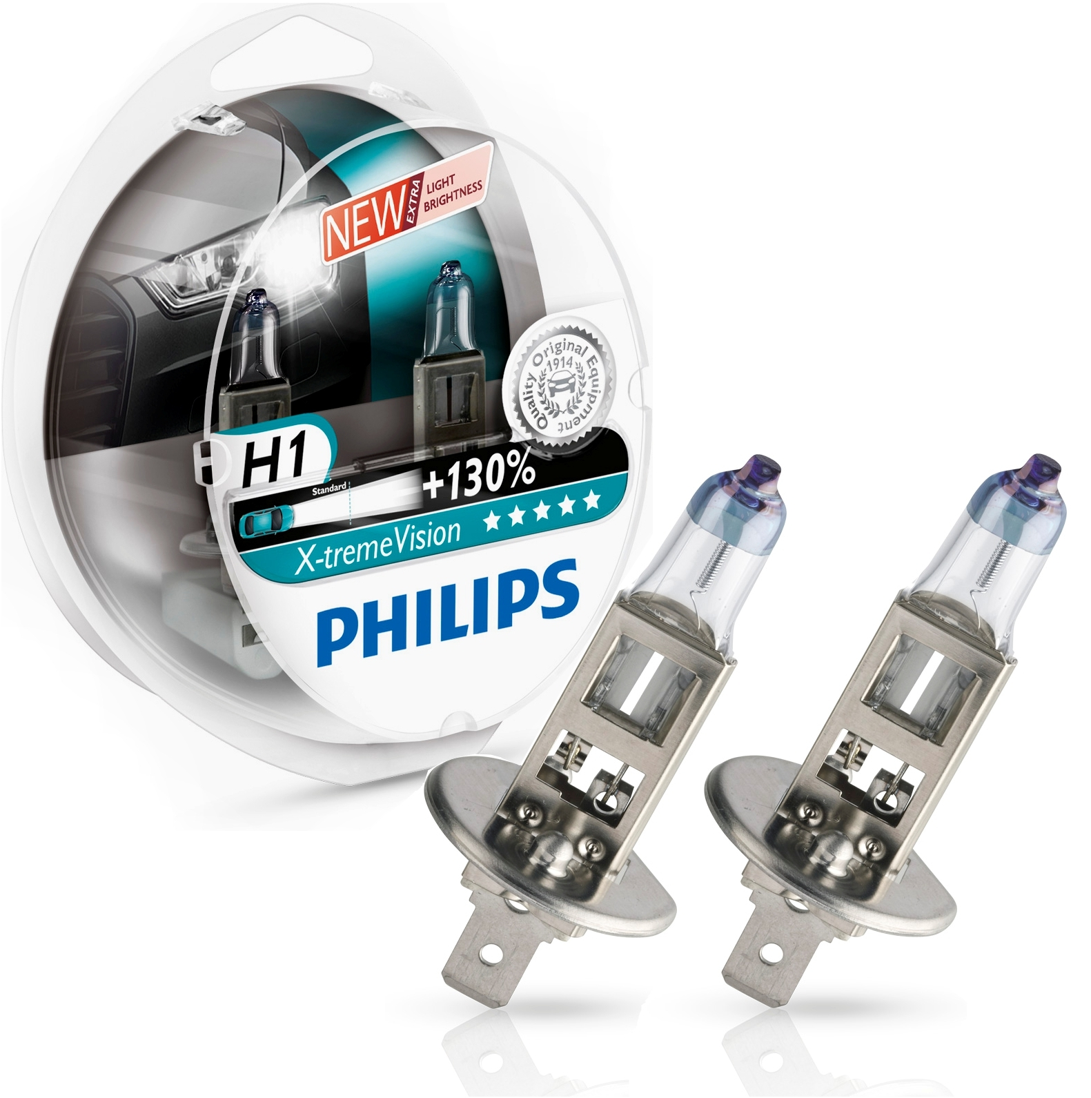 philips h1 x treme vision 130 12v 55w ad tuning. Black Bedroom Furniture Sets. Home Design Ideas