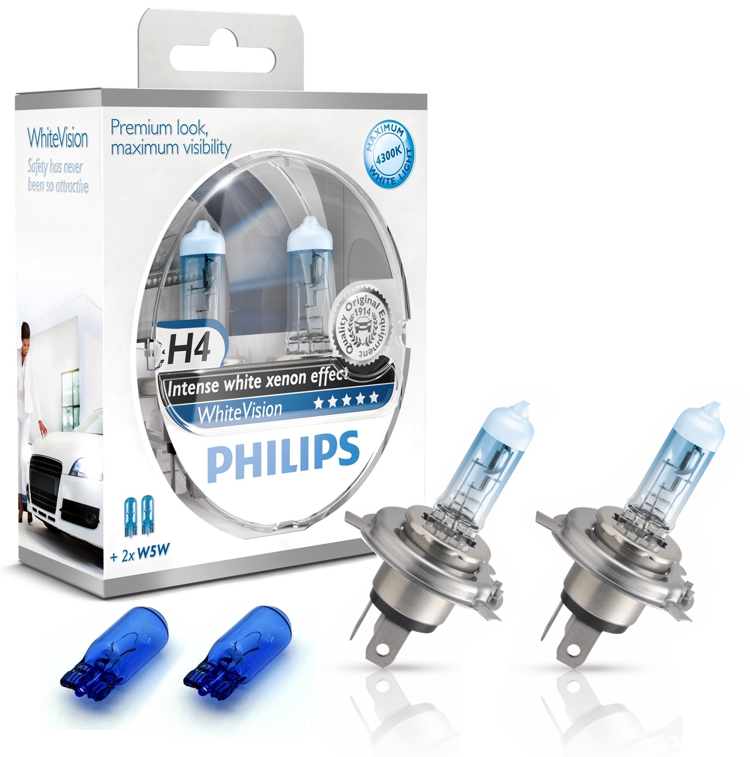 philips h4 whitevision xenoneffect 12v 55w ad tuning. Black Bedroom Furniture Sets. Home Design Ideas