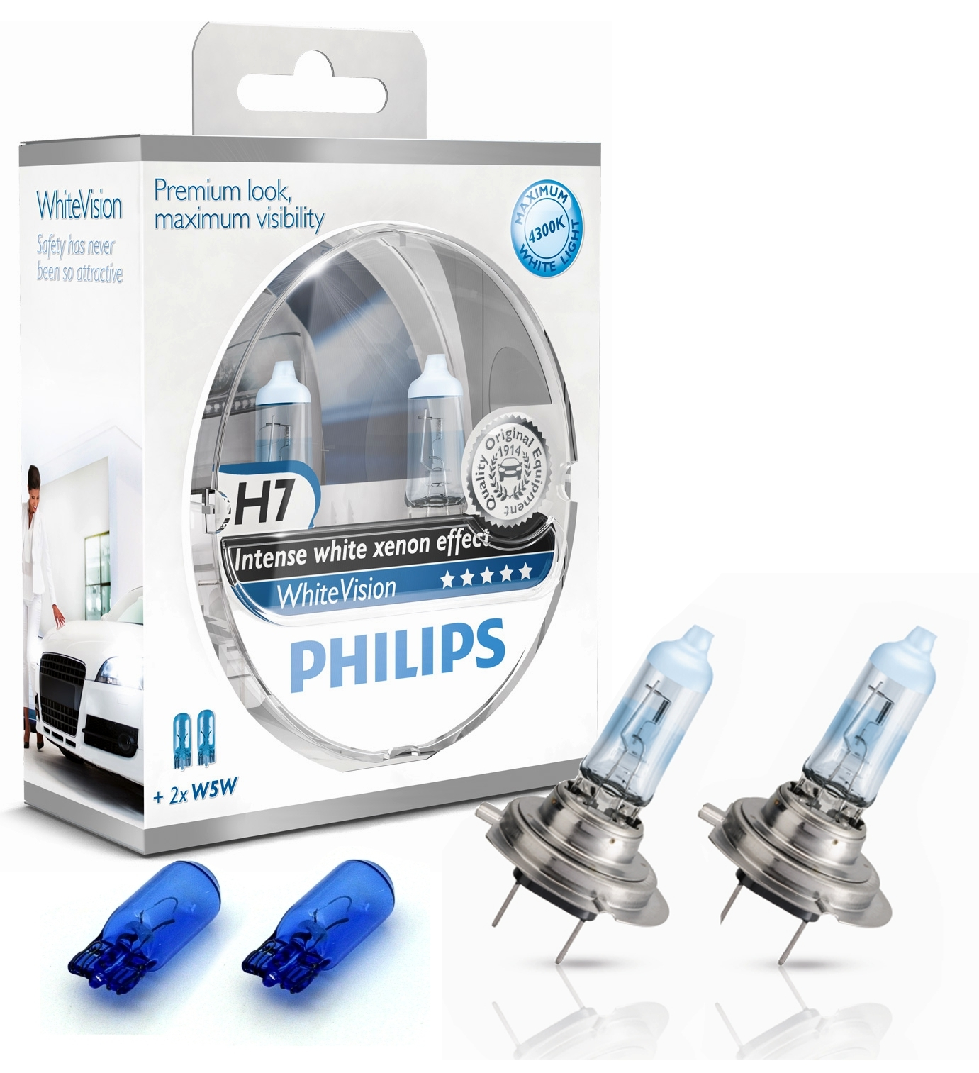 philips h7 whitevision xenoneffect 12v 55w ad tuning. Black Bedroom Furniture Sets. Home Design Ideas