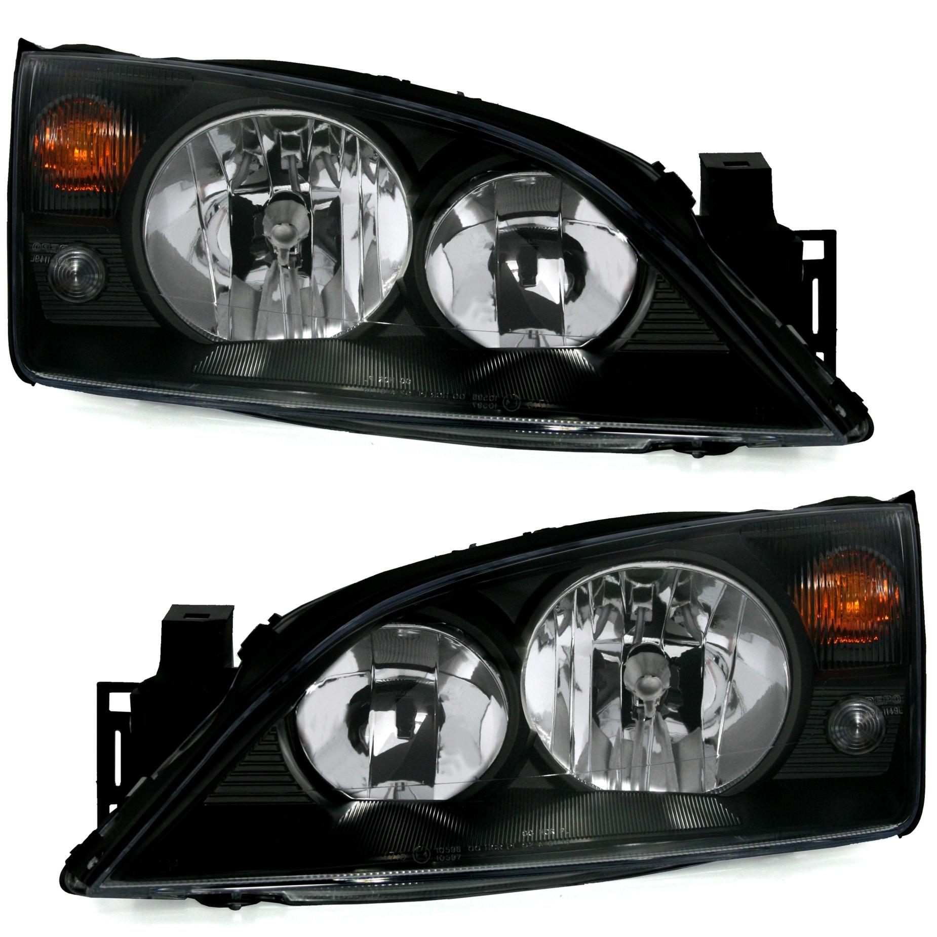 scheinwerfer set für ford mondeo mk3 in schwarz | ad-tuning