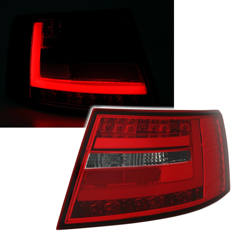 lightbar r ckleuchten f r audi a6 4f in rot wei ad tuning. Black Bedroom Furniture Sets. Home Design Ideas