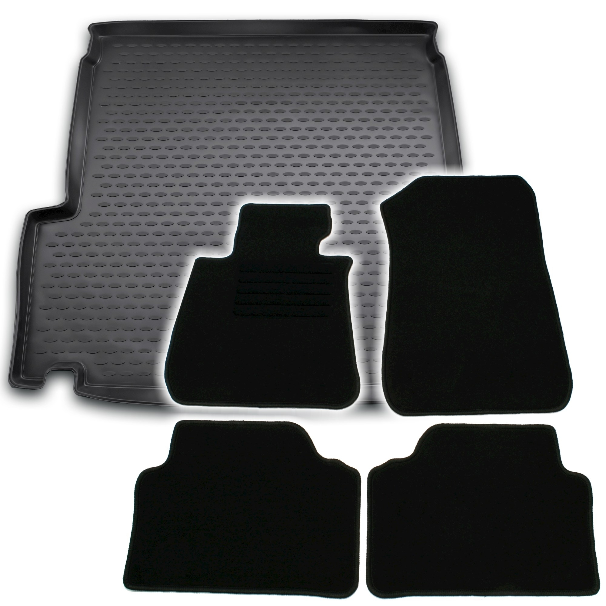 kofferraumwanne fu matten f r 3er bmw e91 tourin ad tuning. Black Bedroom Furniture Sets. Home Design Ideas