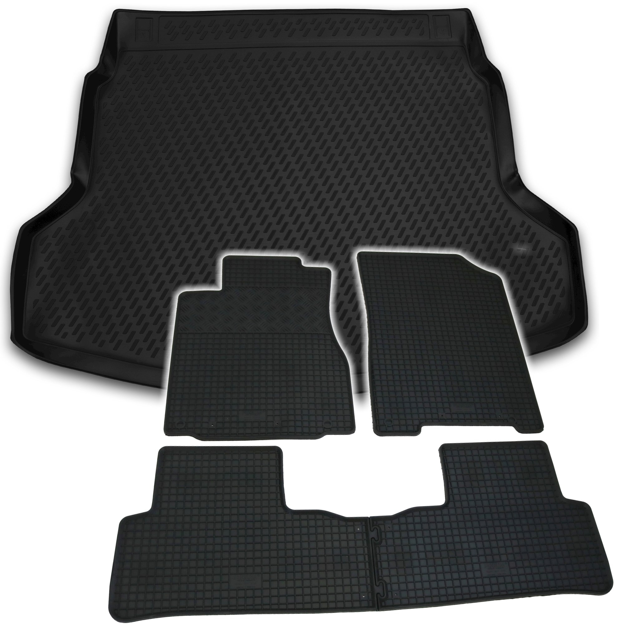 Kofferraumwanne Set für Honda HRV ab 2015 Fußmatten