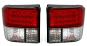 LED R�ckleuchten Set f�r VW T4 9/90- in Rot-Wei�