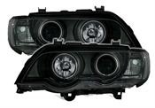 Angel Eyes Scheinwerfer f�r BMW X5 in...